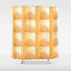 Sunshine Ripples Shower Curtain