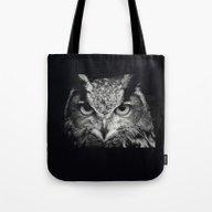 Owl Chouette 2 Tote Bag