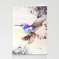 Humming Bird Stationery Cards