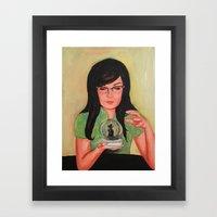 Future Is Uncertain Framed Art Print