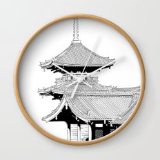 Kyoto - Kyomizudera Wall Clock