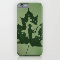 iPhone & iPod Case featuring A New Leaf by rob dobi