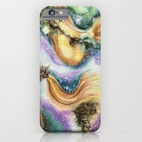 iPhone Cases featuring Carina Nebula by Bonnie Johnson