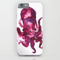 pink octopus iPhone 6 Slim Case