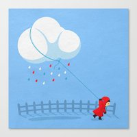 Take The Weather With Yo… Canvas Print