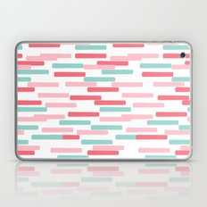 Karena - abstract minimal trendy pattern palette lines dash grid urban affordable dorm college decor Laptop & iPad Skin