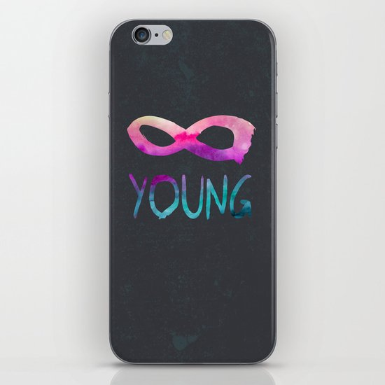 Forever Young II iPhone & iPod Skin