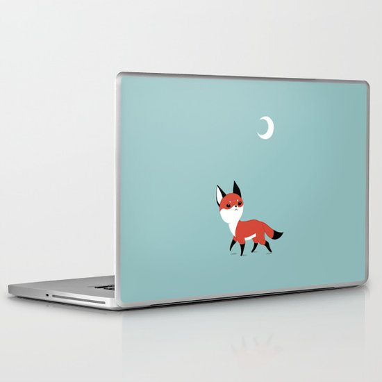 Moon Fox Laptop & iPad Skin
