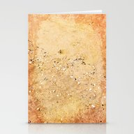 Sea Shells On Sand Stationery Cards