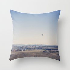 in the distance::denver Throw Pillow