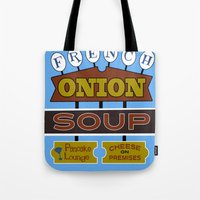 French Onion Soup  Tote Bag