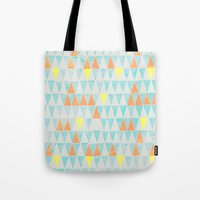 Triangle Patterns Tote Bag