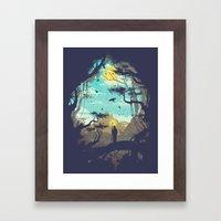 The Guardian Of The Sun Framed Art Print