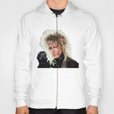 D. Bowie, inside the labyrinth Hoody