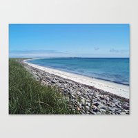 The Bay of Lopness Canvas Print