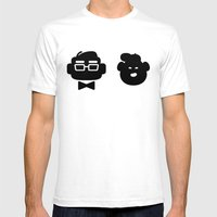 Mr. Fredricksen & Russel… Mens Fitted Tee White SMALL