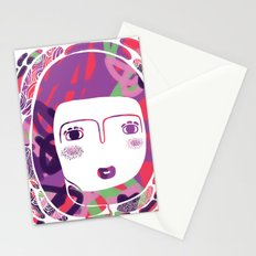 Protect_WHITE Stationery Cards