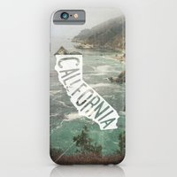 california iPhone & iPod Cases featuring California by cabin supply co