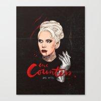 The Countess, Elizabeth Canvas Print