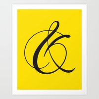 Ampersand 1 Art Print