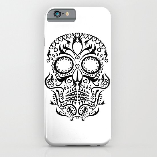 Day of the Dead Skull No.26 iPhone & iPod Case