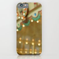 iPhone Cases featuring Round and Round by Alicia Bock
