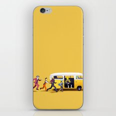 A Courtroom on the Verge of a Breakdown iPhone & iPod Skin