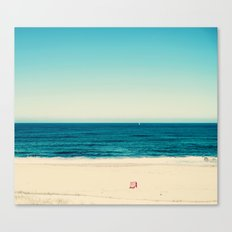 beach feeling Canvas Print