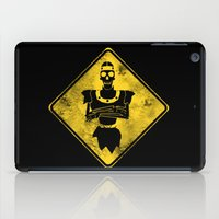 Dragon's Lair Warning Sign iPad Case
