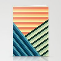 Stripes Are Us Stationery Cards