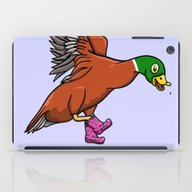 Duck Boots iPad Case