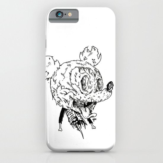 Zombie Mickey iPhone & iPod Case