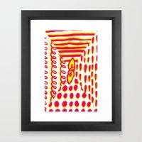 Furoshiki Framed Art Print