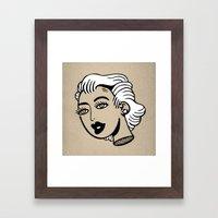 Heady Night Framed Art Print