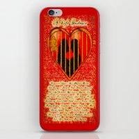 LOVE MY PERFECT PRISON  - 020 iPhone & iPod Skin