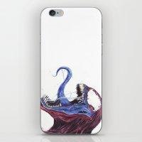 Venom Turned Spider Man iPhone & iPod Skin