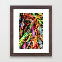SIMPLY LEAVES Framed Art Print