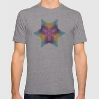 Fig. 026 Mens Fitted Tee Athletic Grey SMALL