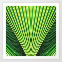 50 Shades Of Green (2) Art Print