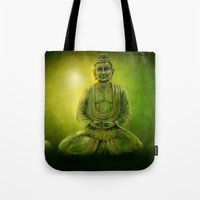 Happy Buddha 1 Tote Bag