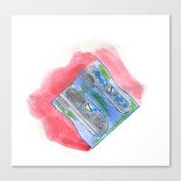 sharpner Canvas Print