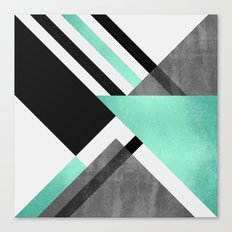 Foldings Canvas Print
