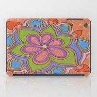 Drops and Petals 4 iPad Case