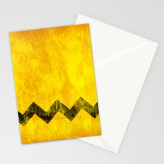 Distressed Charlie Brown Stationery Cards