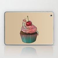 SWEET WORMS 1 - cupcake Laptop & iPad Skin