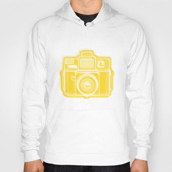 I Still Shoot Film Holga Logo - Sunshine Yellow Hoody