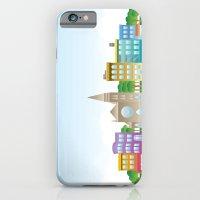 Park Slope Skyline (Color) iPhone 6 Slim Case