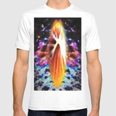 Star Soul Mens Fitted Tee White SMALL