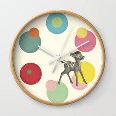 Go Bambi! Wall Clock