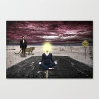 Conceptions, Deceptions and Pointless Perceptions Canvas Print